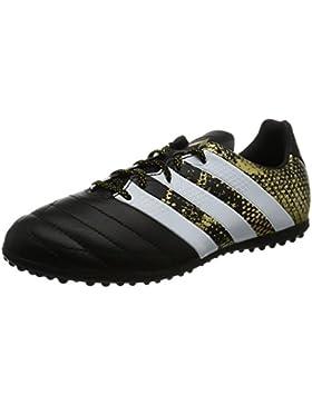 adidas Ace 16.3 TF J Leather, Botas de Fútbol Para Niños