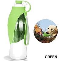 Chuangrong Alimentador portátil Botella de Agua para tazón Dispensador de biberones para Perros Herramienta para Beber