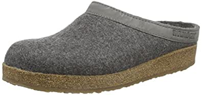 Haflinger Grizzly Torben, Womens Slippers, Gray - Grau (anthrazit 4), 6 UK (39 EU)