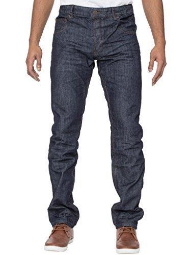 Eto Jeans Herren konisch Passform lässig elegant Darkwash Denim jeans28-42 Darkwash
