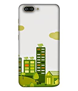 PrintVisa Designer Back Case Cover for Gionee S10 (Green Grass Garden Greenary Huge )