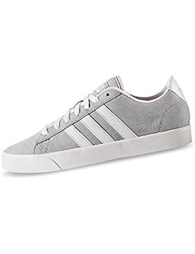 adidas Damen Cloudfoam Daily Qt W Turnschuhe, Clear Onix / Ftwr White / Matte Silver