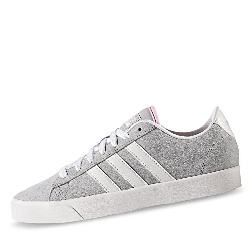 adidas Damen Cloudfoam Daily Qt W Turnschuhe, Clear Onix / Ftwr White / Matte Silver NEWROS/GRANIT