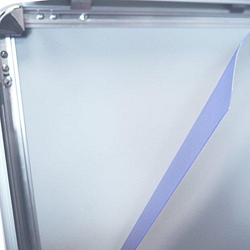 3 Stück DIN A1 Ersatzfolie Schutzfolie Folie für Kundenstopper Plakatrahmen