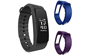 Pulsera de fitness – ouivallée mypulse – Bluetooth 4.0 Sensor de ritmo cardíaco ...