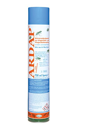 8 x 750 ml quiko ardap 077465 parassiti spray contro tutti i tipi di parassiti negozio. Black Bedroom Furniture Sets. Home Design Ideas
