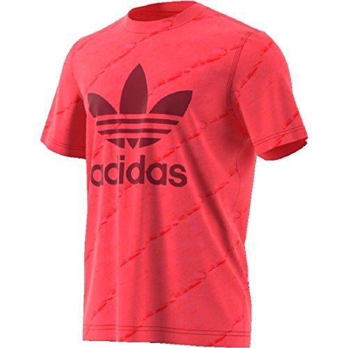 adidas Tie Dye T-Shirt (S, Red) (Red Dye Tie)
