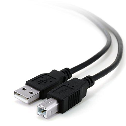 CSL - 5m Premium USB Kabel A / B | Druckerkabel / Verbindungskabel | USB A-Stecker auf USB B-Stecker | passgenaue Steckverbindung | 5m (Meter) (Drucker Kabel Usb)