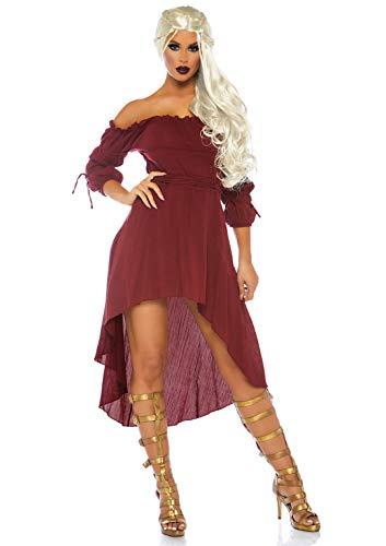 Leg Avenue- Mujer, Color borgoña, S/M (EUR 36-38) (270005036)