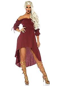 Leg Avenue- Mujer, Color borgoña, M/L (EUR 40-42) (270006036)