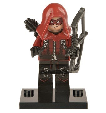 nido-del-bimbo-1221-dc-comics-red-arrow-armor-minifigure-compatibile-lego-altezza-43-cm