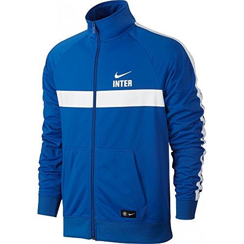 Nike Inter M NSW PK CRE Inter Milano JKT-Giacca Da Uomo Azul (Royal Blue / White / White)