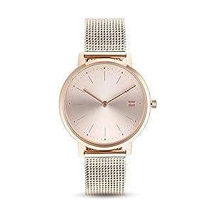 Tommy Hilfiger Reloj Analógico para Mujer de Cuarzo con Correa en Acero Inoxidable 1781926