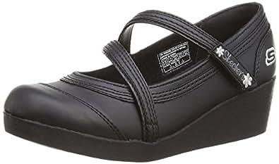 Skechers Kids Best Girl, Chaussures filles Noir - noir - 27.5 EU (10 UK  Child)