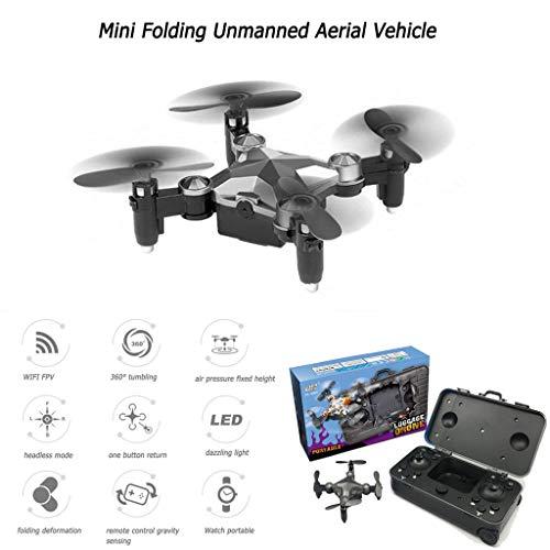 Rc Drohne, Chshe, Mini Tragbare 720P Hd Wifi Fpv Folding Unbemannte Luftfahrzeug Tasche Drohne Vierachsige Flugzeuge - Abd-batterie