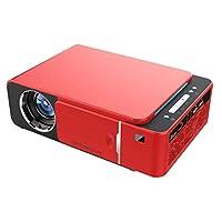 جهاز عرض فيديو SHUHAN T6 2000ANSI Lumens 1280P LCD صغير محمول عالي الدقة ، إصدار الهاتف المحمول ، يدعم HDMI ، VGA ، USB (أحمر) ، إلكترونيات مستهلكة YSH-AE