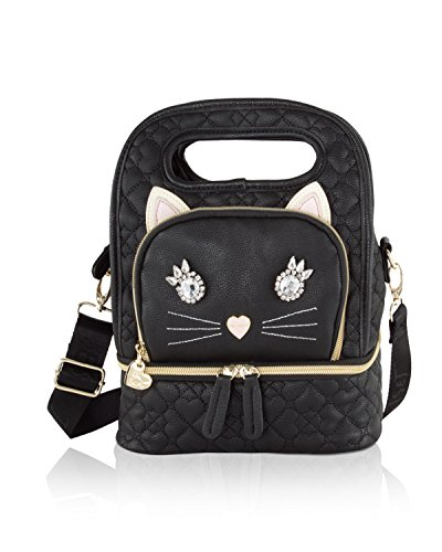 Betsey Johnson Damen top-handle Lunchtasche (Johnson Umhängetasche Betsey)