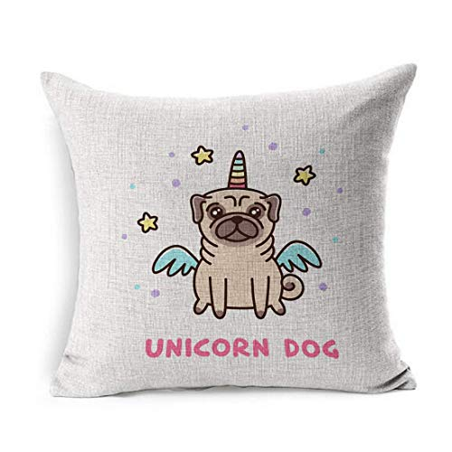 Generic Throw Pillow Cover Square glücklich cool