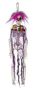 Boland BOL72220 - Decoración para Colgar (40 cm), diseño de Esqueleto de Clown