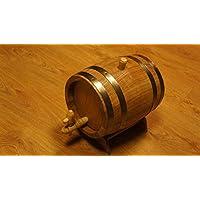 Botte rovere 5L barile di legno per la conservazione o Aging vino e alcolici