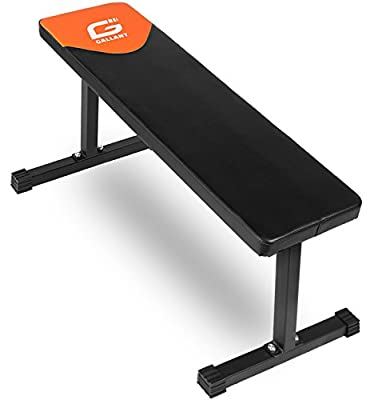 Gallant Flat Weight Lifting Bench - Home Gym Fitness Workout by Gallant Sports
