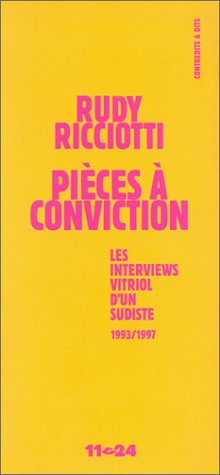 Pices  conviction: Les interventions vitriol d'un sudiste 1993/1997, Bandol t, 98