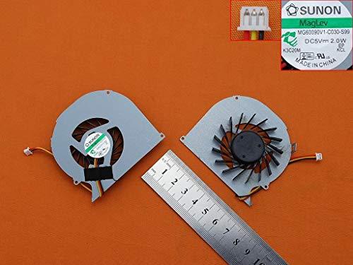 Dell Notebook-kühler (Lüfter Kühler Fan Cooler Version 1 Kompatibel für Dell Inspiron 15 5520 5525 7520 Vostro 3560)