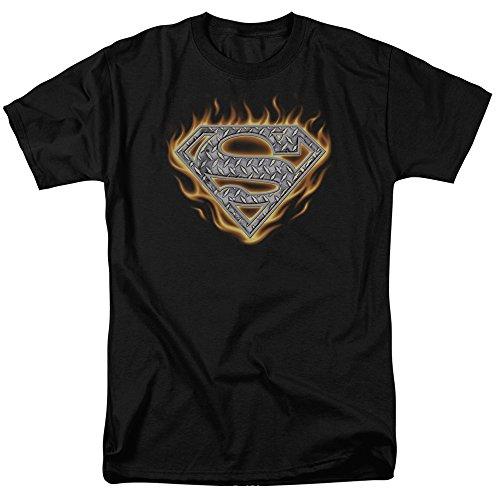 Superman DC Comics T-Shirt mit Stahlfeuerschutz für