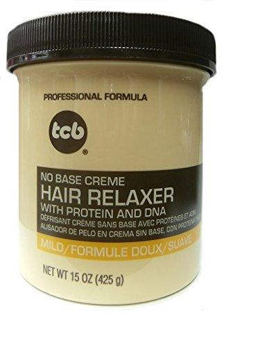 Base Creme Hair Relaxer (Relaxer / Glättungscreme TCB No Base Creme Hair Relaxer MILD 425ml)