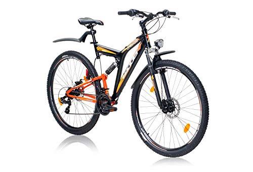tretwerk DIREKT gute Räder Leader Chicago Street Disc 28 Zoll ATB, Jungen-Herren-Fahrrad -