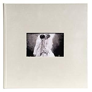 Exacompta 14053E Album Photos Livre 30 Pages Opale Ivoire 25 x 25 cm
