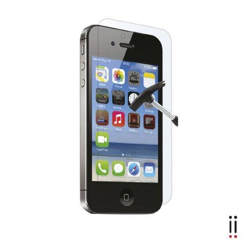 Aiino Pellicola Adesiva Protettiva Schermo Display Accessorio per Smartphone Cellulare Iphone 4/4S - Mirror, Specchio Anti-Shock