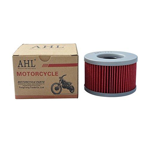 AHL Ölfilter für CX500 500 1978-1984 / CM400T 400/CM400A 1979-1981 (Honda Cm400t)