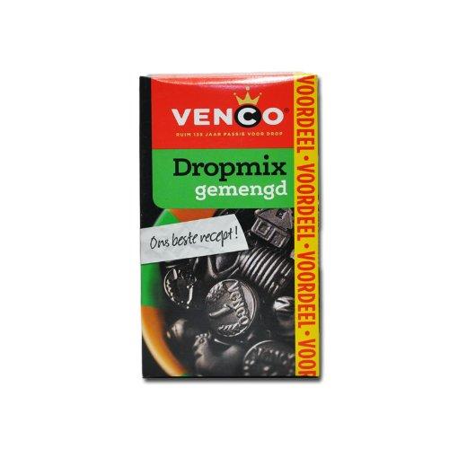 8 X Venco Dropmix Gemischt - Lakritz Süß / Salz - 490g (Drop Holländischen Lakritz)