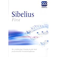 Sibelius First  (PC+ MAC)