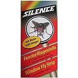 SCHOPF 302185 Silence Fliegenfänger, transparenter Klebefänger, 6 Streifen
