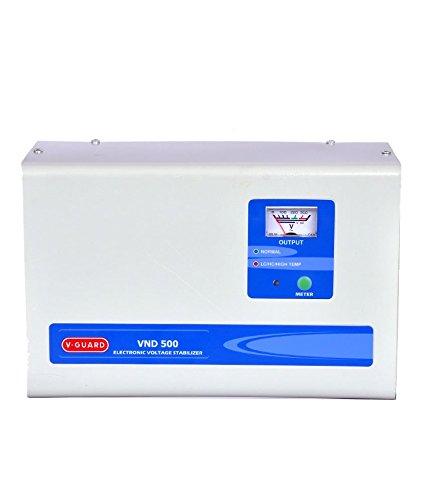 V Guard VND 500 Voltage Stabilizer  Grey