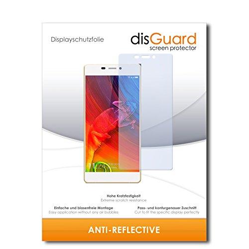 disGuard® Bildschirmschutzfolie [Anti-Reflex] kompatibel mit Allview X2 Soul Pro [4 Stück] Entspiegelnd, Matt, Antireflektierend, Extrem Kratzfest, Anti-Fingerabdruck - Panzerglas Folie, Schutzfolie