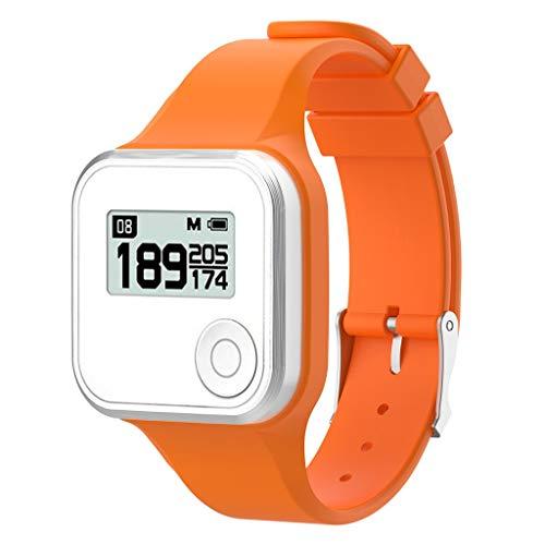 SO-buts Golfbuddy Voice+/Voice 2 /Voice 2 GPS Armband,Ersetzen Silicagel Armband, 220mm Strap,Für Golfbuddy Voice+/Voice 2 /Voice 2 GPS (Orange)