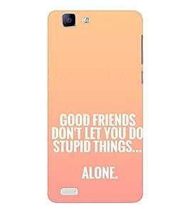 EPICCASE Friendship Quote Mobile Back Case Cover For Vivo X 3s (Designer Case)