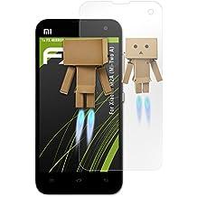 atFoliX Protección de Pantalla para Xiaomi M2A (Mi-Two A) Lámina protectora Espejo - FX-Mirror Protector Película con efecto espejo