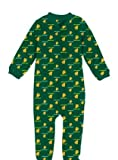 Oregon Ducks Toddler Full Zip Raglan Coverall Sleeper