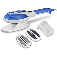 vapor de la ropa WSHWJ Cepillo de vapor Hogar Vaporera de ropa portátil Horno de vapor de mano Control de temperatura de múltiples archivos , blue