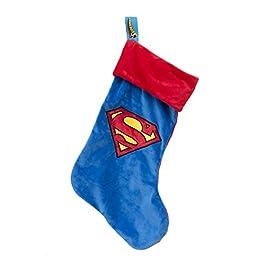 DC Comics SUPERMAN CALZA NATALE BEFANA DOLCI CIOCCOLATA PRODOTTO UFFICIALE 47 CM
