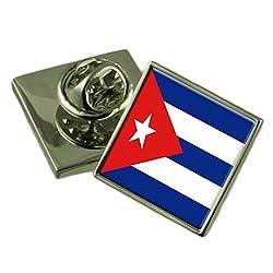 Select Gifts Kuba Flagge Anstecknadel Abzeichen 18mm Wählen Sie Geschenk Tasche