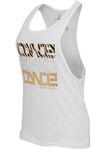 Urban Classics Dance Tank Top Zebra Blanc
