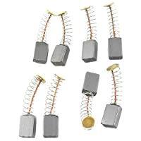 Uxcell Electric Drill Parts Motor Carbon Brushes, 12mm x 8mm x 5mm, 4 Pairs