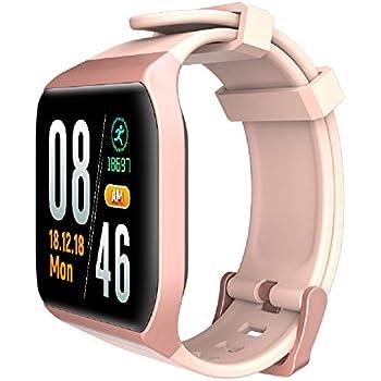 TDOR ¡Ofertón Blackfriday! Smartwatch Whatsapp Mujer Android iOS Monitor Actividad, Color Rosa