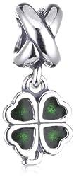 Pandora Damen-Anhänger Silber Moments - Kleeblatt 790572EN25