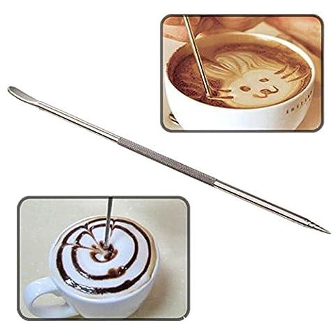 Professional Barista Coffee Latte Cappuccino Espresso Decorating Art Pen Cafe Kitchen Decoration Tool